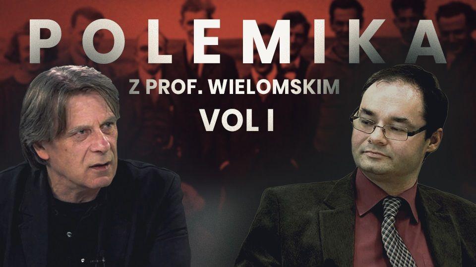 Krzysztof Karoń i prof. Adam Wielomski